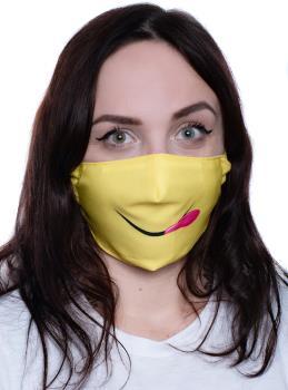 Amigo Masks Facemask Protective Reusable Face Covering, OS Tasty