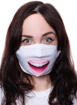 Amigo Masks Facemask Protective Reusable Face Covering, OS Wow