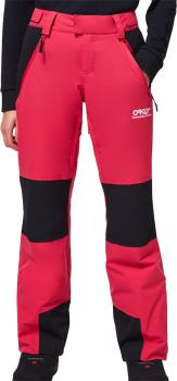 Oakley TNP Insulated Women's Snowboard/Ski Pants, S Rubine Red