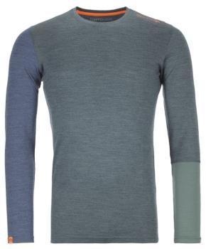 Ortovox Rock'n'Wool Long Sleeve Thermal Top, XL Green Forest Blend