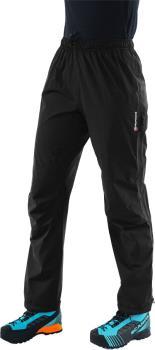 Montane Pac Plus Women's Waterproof Hiking Pants UK 8/Short Leg Black