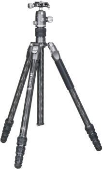 Benro Rhino 14C + VX20 Kit Travel Camera Tripod + Ballhead, Black