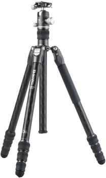Benro Rhino 24C + VX25 Kit Travel Camera Tripod + Ballhead, Black