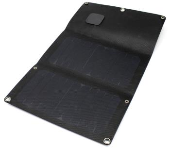 PowerTraveller Falcon 12E Lightweight Folding Solar Panel, 12W