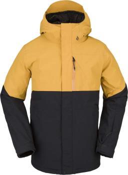 Volcom Adult Unisex L Insulated Gore-Tex Ski & Snowboard Jacket, L Resin Gold