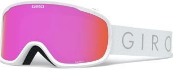 Giro Womens Moxie White Core Light, Amber Pink Women's Ski/Snowboard Goggles, M