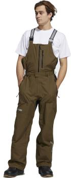 Adidas Adult Unisex Gore-Tex Bib Ski/Snowboard Pants, L Ink