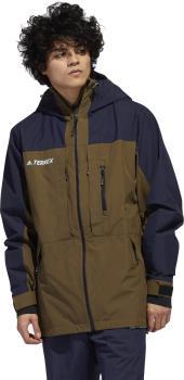 Adidas Gore-Tex Ski/Snowboard Jacket, M Ink