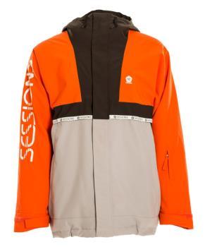 Sessions Scout Ski/Snowboard Jacket, L Grey
