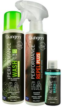Grangers Clothing Care Kit Active Wear Cleaner & Waterproofer