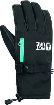 Picture Palmer Women's Snowboard/Ski Gloves, M Black