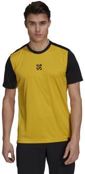 Adidas Five Ten Trail X Technical Short Sleeve T-shirt, XL Yellow