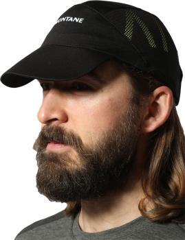 Montane Cadenza Stretch Fit Hat Running Cap, Black