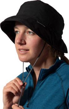 Montane GR Sun Mountain UPF Protective Brim Hat, S/M Black