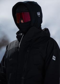 PAG Neckwear Adapt XL Ski/Snowboard Hood, OS Black