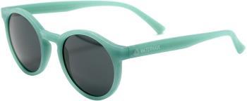 Waterhaul Harlyn Grey Recycled Round Sunglasses, M Aqua