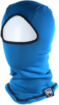 PAG Neckwear Head First Layer Grid Fleece Ski Balaclava, OS Blue