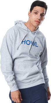 Howl Logo Pullover Hoodie, M Grey