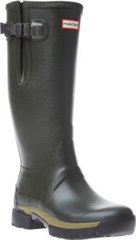 Hunter Balmoral Side Adjustable Wellington Boot, UK 13 Dark Olive