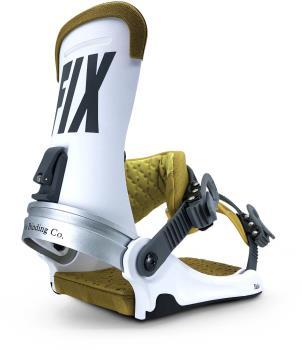 Fix Yale Snowboard Bindings, Large White 2021