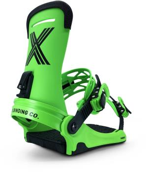 Fix Magnum Snowboard Bindings, Medium Lime 2021
