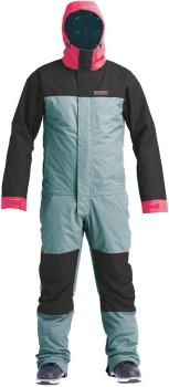 Airblaster Insulated Freedom Ski/Snowboard Onepiece Suit, M Storm