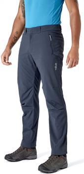 Rab Vapour-Rise Trek Regular Hiking Trousers, XL Beluga