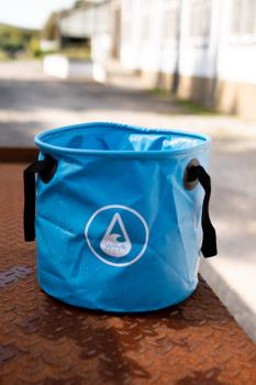 WAVE HAWAII Beach Bucket Swimming Beach Kit Bag, 28L Blue