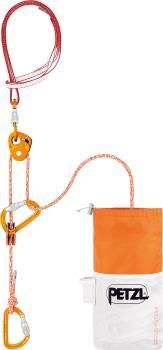 Petzl RAD System Rescue Kits, 30m x 6mm Orange/White