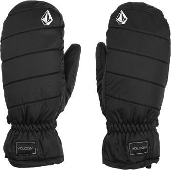 Volcom Adult Unisex Puff Puff Women's Ski/Snowboard Mitts, Xl Black
