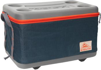 Kelty Folding Cooler Collapsible Cool Box, 45L Reflecting Pond