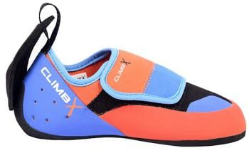 Climb X Kinder Kid's Rock Climbing Shoe UK Kids 13.5 Orange/Blue