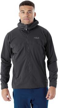 Rab Kinetic 2.0 Waterproof Jacket, XL Beluga