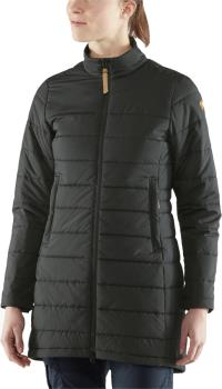 Fjallraven Kiruna Liner Parka Women's Padded Jacket, S Black