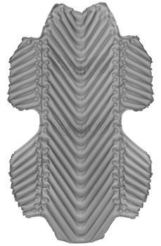 Klymit Hammock V Lightweight Hammock Mattress, Regular Grey