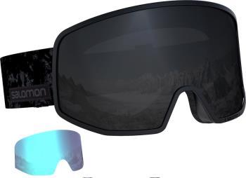 Salomon Lo Fi Sol Black Snowboard/Ski Goggles, M/L Black