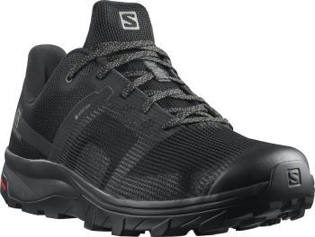 Salomon OUTline Prism Gore-Tex Hiking Shoes, UK 11.5 Black/Black