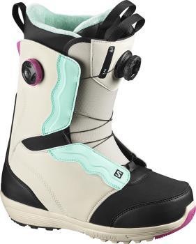 Salomon Ivy BOA SJ Women's Snowboard Boots, UK 6.5 Rainy Day 2021