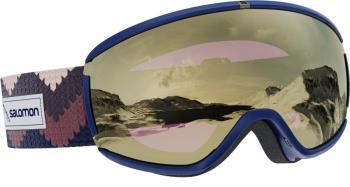 Salomon Ivy Sol Black/Gold Women's Snowboard/Ski Goggles S/M Wisteria