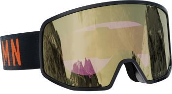 Salomon Lo Fi Sigma Solid Gold Snowboard/Ski Goggles, M/L Black/Grey