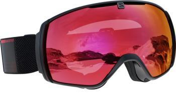 Salomon XT One Sigma P.Red Snowboard/Ski Goggles, M/L Black