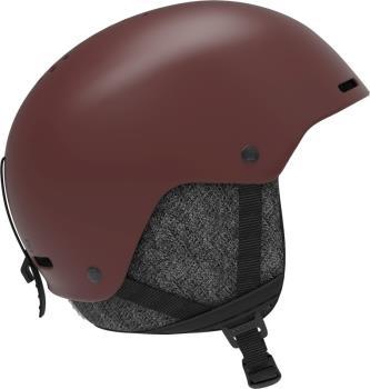 Salomon Brigade+ Snowboard/Ski Helmet, L Madder