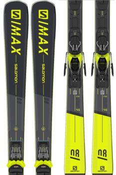 Salomon S/MAX 8 M11 GW Skis, 170cm Black 2021