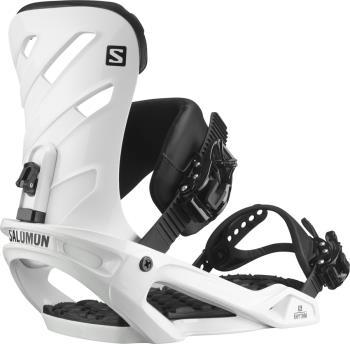 Salomon Rhythm Snowboard Bindings, L White 2022