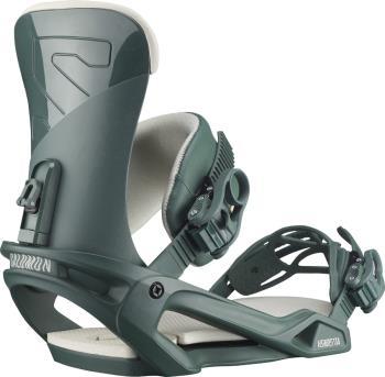 Salomon Vendetta Women's Snowboard Bindings, M Green 2021