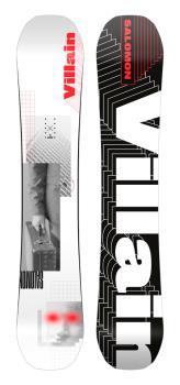 Salomon Villain Hybrid Camber Snowboard, 158cm 2021