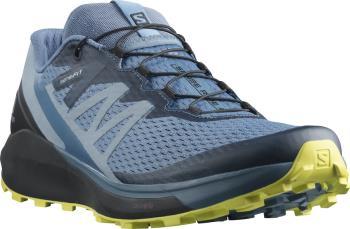 Salomon Sense Ride 4 Trail Running Shoes, UK 8 Copen Blue