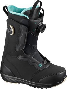 Salomon Ivy BOA SJ Women's Snowboard Boots, UK 4 Black 2021