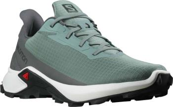 Salomon Alphacross 3 Trail Running Shoes, UK 10 Trooper/White/Magnet
