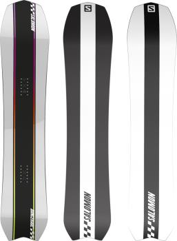 Salomon Dancehaul Hybrid Camber Snowboard, 147cm 2022